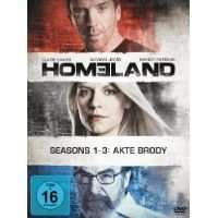 [Saturn] Homeland Staffel 1-3 - Limited Edition (12 DVDs) - für 24,99€ versandkostenfrei