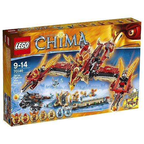 Toys R Us hat weitere Lego-Sets ausgebuddelt, z.B.  Lego 70146 Phönix Feuertempel für 79,98