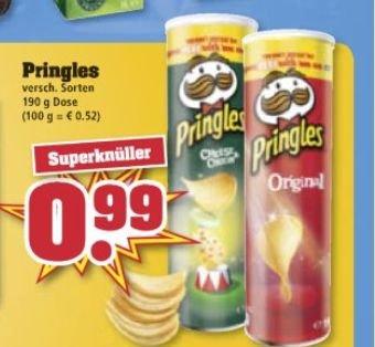 Trinkgut - Pringles 0.99€ (evtl.bundesweit?)