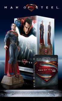* Update Jetzt fast 10€ teurer, aber immer noch ein guter Preis *[Amazon.fr] Man of Steel Ultimate Collectors Edition [3D Steelbook Blu-ray] [Limited Collector's Edition] Deutsche Version