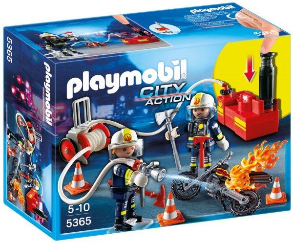 [Amazon Prime] PLAYMOBIL 5365 - Feuerwehrmänner mit Löschpumpe für 9,99€