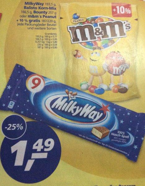 (Real)M&M's Peanut + 10% gratis für 1,49€