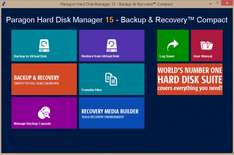 Paragon Hard Disk Manager 15 - Backup & Recovery Compact (English, WIN) kostenlos