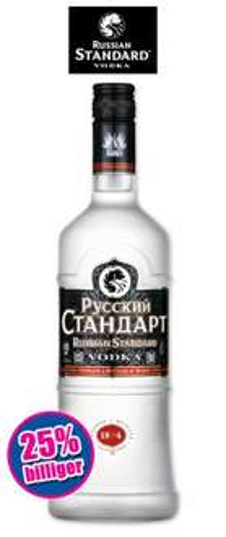 [Norma] Russian Standard Vodka 0,7L für 8,99€