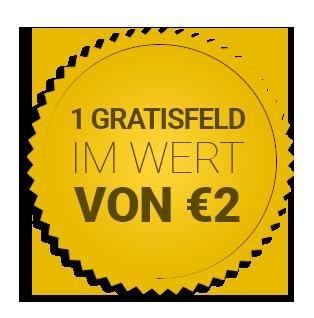 [lottopalace] Ein gratis Eurojackpot Feld