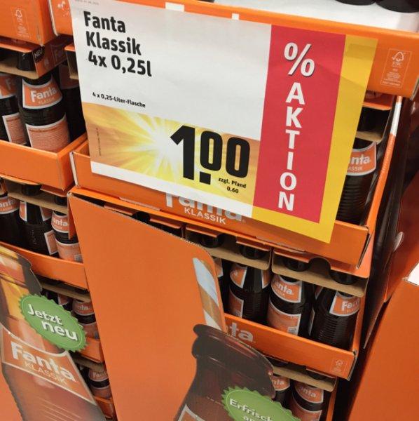 Fanta Classic [Lokal Rewe Ilvesheim] 1€ + 60cent Pfand