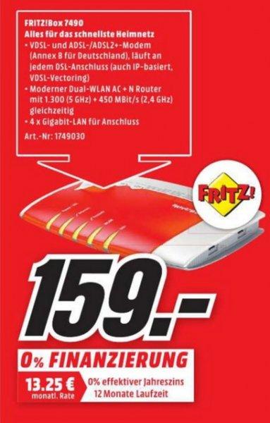 (Lokal) AVM FRITZ!Box 7490 für 159 @ Mediamarkt Siegen
