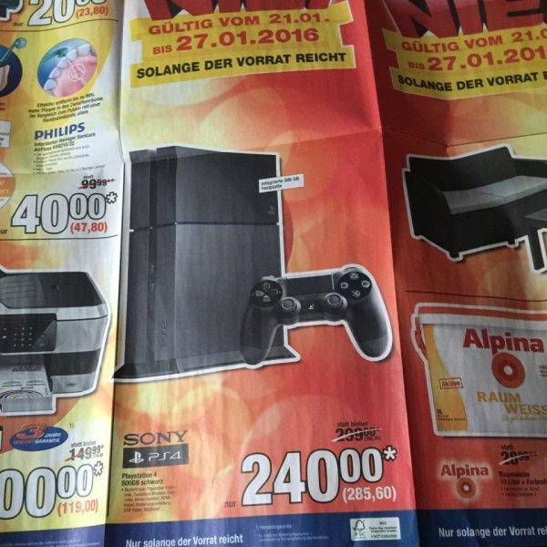 [Metro] Playstation 4 500GB mit einem Controller für 285,60€