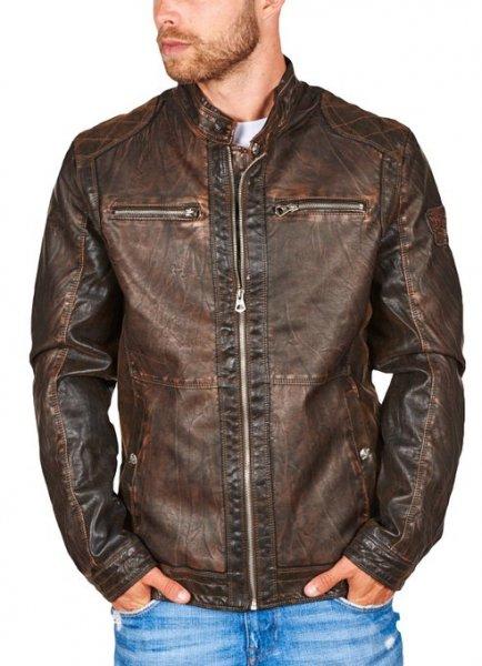 [Amazon.de] 109538 Patria Mardini Kunstlederjacke Leder Jacke Biker (Wohl nur in S) für 19,95 statt 39,95 Euro
