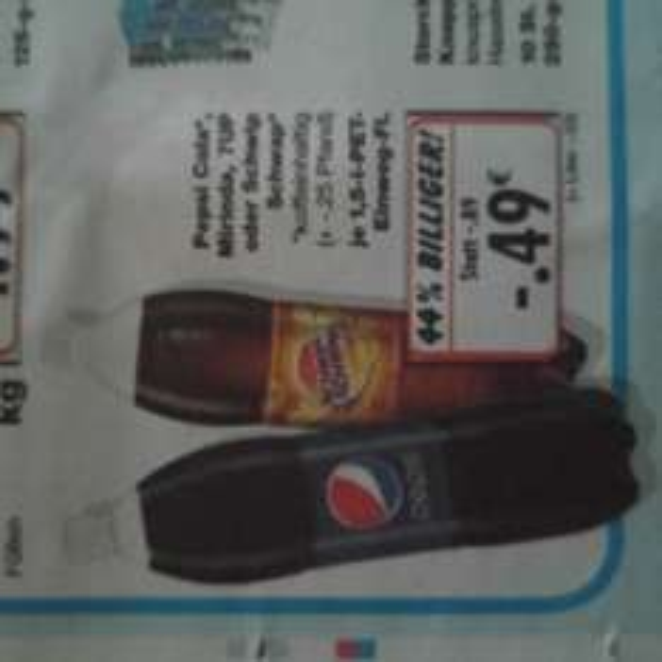 Pepsi Cola,  Mirinda 7up @ kaufland Bundesweit für 49ct 21.1.-23.1.16
