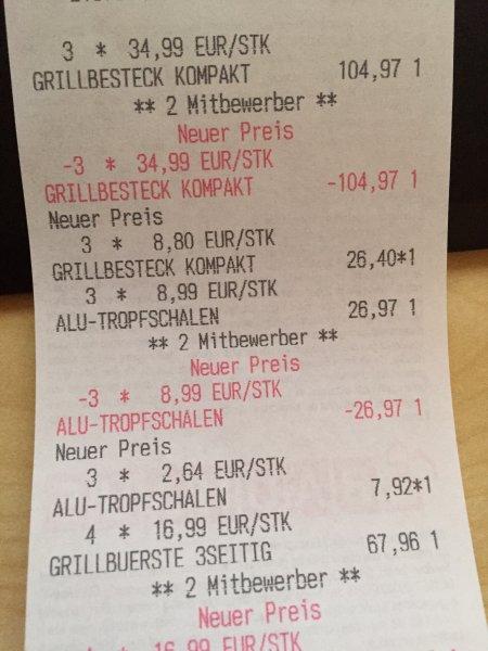 [Bundesweit] Diverses Weber Grillzubehör durch Bauhaus TPG mit extremen Rabatten