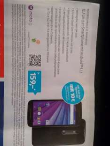 Motorola Moto G3 8GB [Aldi Süd]