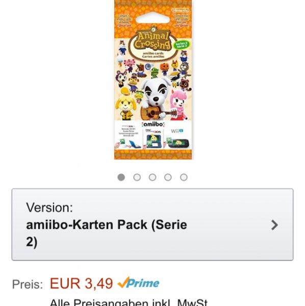 [Amazon] Amiibo Animal Crossing