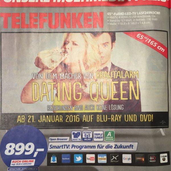 "Real Markt/ Online bei Real / Telefunken 65"" Full-HD L65F249N3CWI"