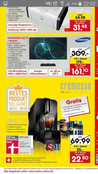 LOKAL Netto Bremen Walle Kapselkaffeemaschine