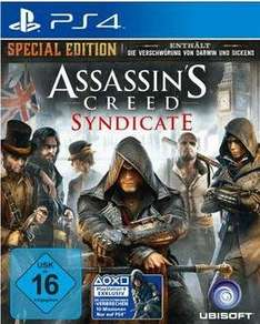 [Lokal: MediaMarkt Wuppertal] Assassin's Creed Syndicate Special Edt. PS4/One für 39,-€