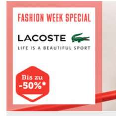 Lacoste Sale bis zu 50% @Brands4Friends