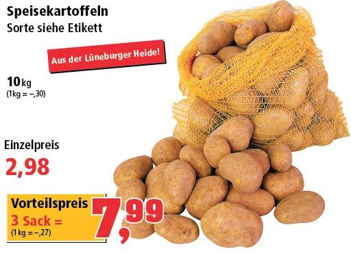 [Thomas Philipps] 10Kg Speisekartoffeln für 2,98€ / 3 Sack = 7,99€