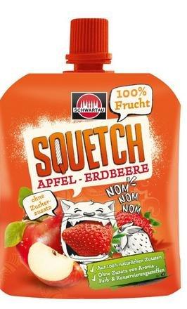 @Amazon prime Squetch Apfel-Erdbeere, 12er Pack (12 x 90 g) 5,74