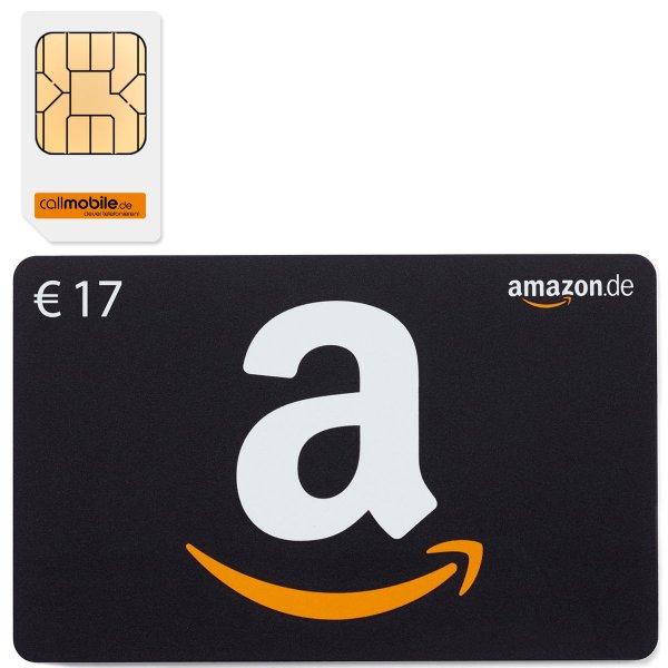 SIEHE !!BESCHREIBUNG!![ebay kovac+bender]17€ Amazon Gutschein für 2,95€ SIM-Karte von callmobile!