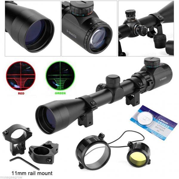 Sehr gutes 3-9x40EG Einsteiger Zielfernrohr für Luftgewehre etc. [durch Preisvorschlag]