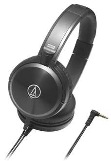 Audio Technica ATH-WS77 Solid Bass On-Ear-Kopfhörer schwarz @Amazon.de