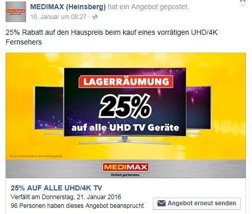 UHD TV Geräte