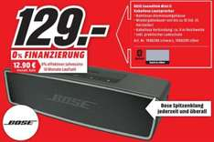 [Lokal Media-Markt Brandenburg] Bose SoundLink Mini II für 129 €
