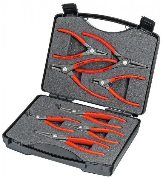 @Amazon: KNIPEX 00 21 25 Präzisions-Sicherungsringzangen-Set 8-teilig  für 70,99€ / Idealo ab 130€