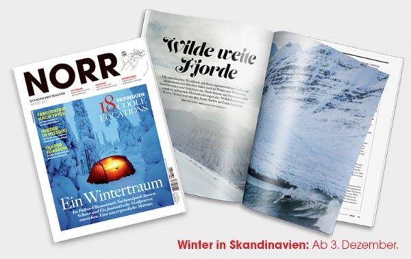 NORR Magazin effektiv gratis durch Untwerwegs Shop Gutschein