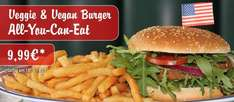 Veggie & Vegan Burger-All You Can Eat bei Miss Pepper American Restaurants für 9,99€ am 18. & 19.01.2016