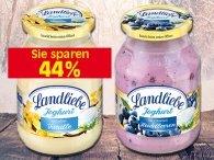 Edeka Reichelt Landliebe Joghurt im Glas nur 60 Cent bei Kauf von 6 Gläsern mit Coupon
