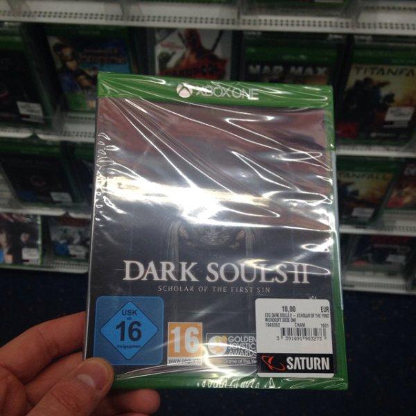 Lokal Saturn Kudamm: Xbox One Dark Souls 2 für 10€