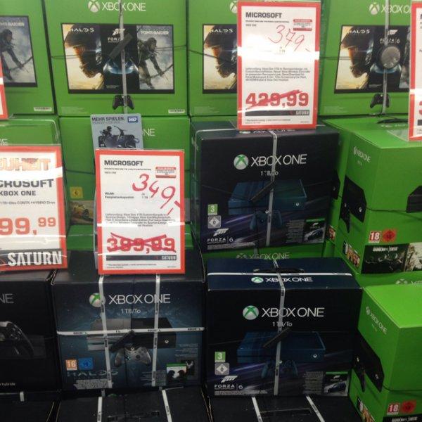 Lokal Saturn Kudamm: Xbox One 1TB mit Halo 5 für 349€