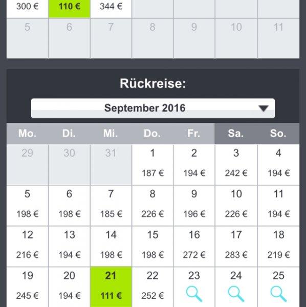Kopenhagen - New York 221€ (30.08-21.09.16) Air Berlin