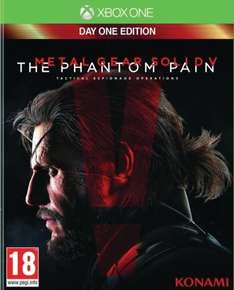 Metal Gear Solid 5: The Phantom Pain - Day One Edition (Xbox One) für 29,22€ @Amazon.fr