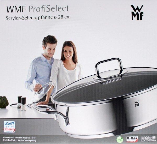 [Amazon] WMF 0761306991 Servierschmorpfanne, Durchmesser 28 cm für 32,50€