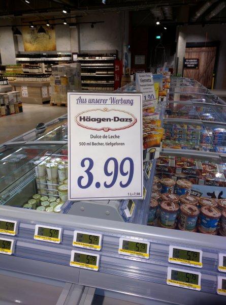 [Edeka Hamburg Rindermarkthalle] Häagen-Dazs - Dulce de Leche Abverkauf 3.99€