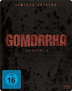 Gomorrha - Staffel 1 - Steelbook [Blu-ray] [Limited Edition] für 19,99€ > amazon.de > Prime