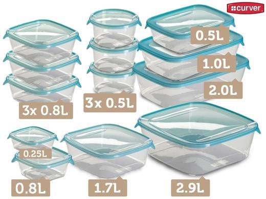 [iBood] Curver Fresh&Go Set - 13 Frischhaltedosen für 20,90 Euro