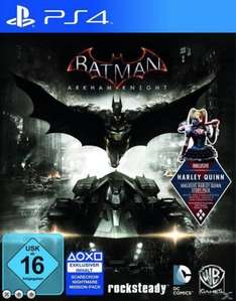 [Expert/technomarkt.de-Online/evtl. Bundesweit !] Playstation 4/Xbox One Batman: Arkham Knight inkl. Harley Quinn für 29€ (+3,99€ VSK)