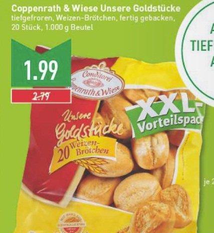 [Marktkauf Bielefeld] C&W Aufbackbrötchen XXL Vorteilspack 20 St. für 1,99 Euro