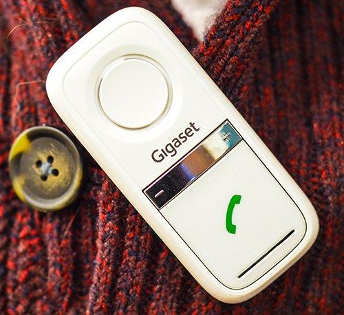 Gigaset L410 Freisprech-Clip für Dect-Schnurlostelefone @ Amazon (Farbe weiß)