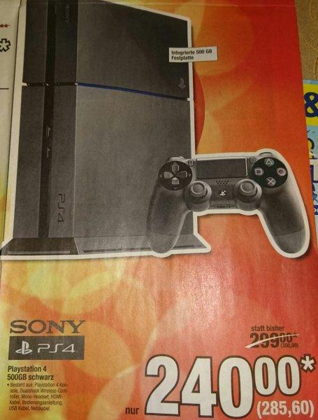 PS4 500GB schwarz [METRO Dortmund (bundesweit?)]