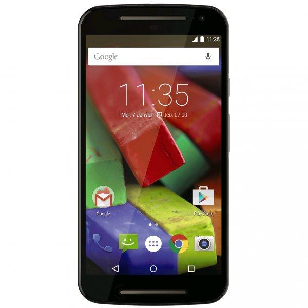 [Motorola Shop] Motorola Moto G 2. Gen. LTE (5x27x27 HD IPS, Snapdragon 400 Quadcore, 1GB RAM, 8GB intern, 2MP + 8MP Kamera, 2390 mAh, Android 5 -> Android 6) für 110€ + 4% Qipu