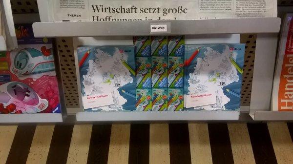 DB Lounge Stuttgart - Kostenlose Buntstifte (Eintritt nur für 1.Klasse bzw. bahn.comfort-Kunden)
