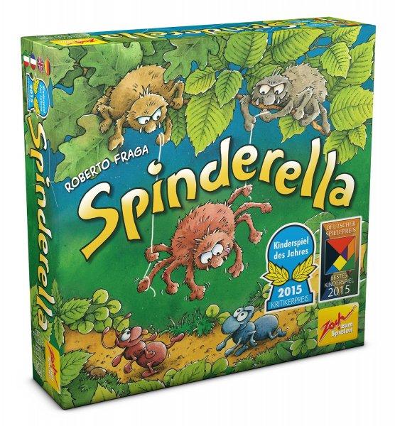 Spinderella (Brettspiel, Gesellschaftsspiel, Kinderspiel des Jahres, Amazon.de PRIME)