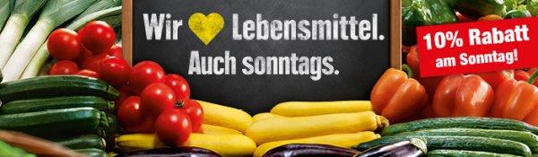 Sonntagöffnung am 24.1.16 bei Edeka Reichelt Berlin mit 10% Rabatt