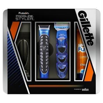 (Amazon Prime) Gillette Fusion Styler Geschenkset Inkl. 200ml Rasiergel nur noch 9,42€