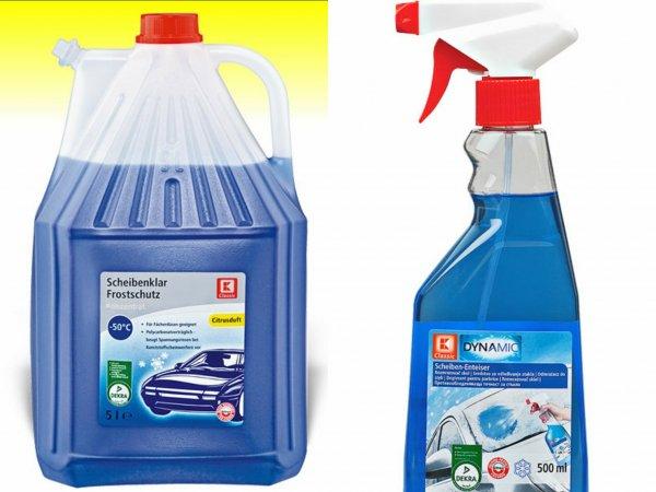 [Kaufland evtl. Bundesweit] Frostschutzmittel + Scheibenenteiser GRATIS